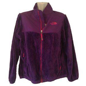 The North Face Girls Fleece Jacket Pink Purple